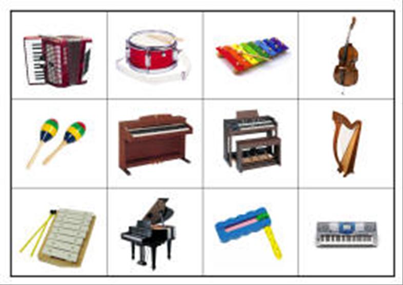 картинки для детей муз.инструменты